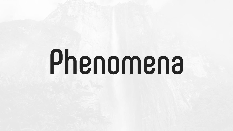 Phenomena - Fontfabric™