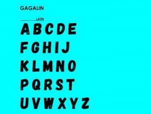 Gagalin - Fontfabric™