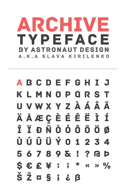 Archive - Fontfabric™
