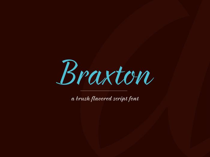 tipografía Braxton para logos modernos