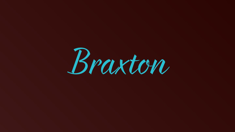 Braxton - Fontfabric™