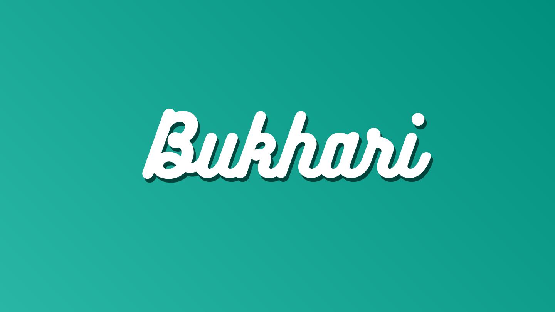 Bukhari Script - Fontfabric™