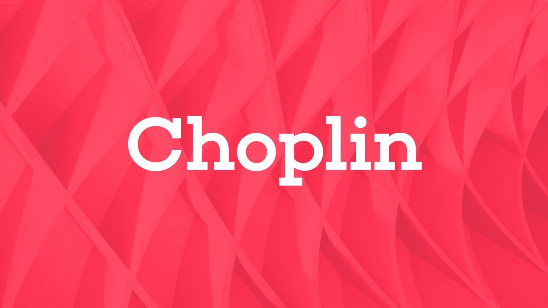 Choplin - Fontfabric™