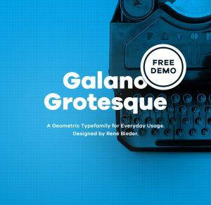 Galano Grotesque - Fontfabric™