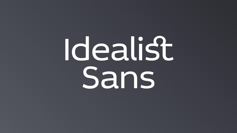 Idealist Sans - Fontfabric™