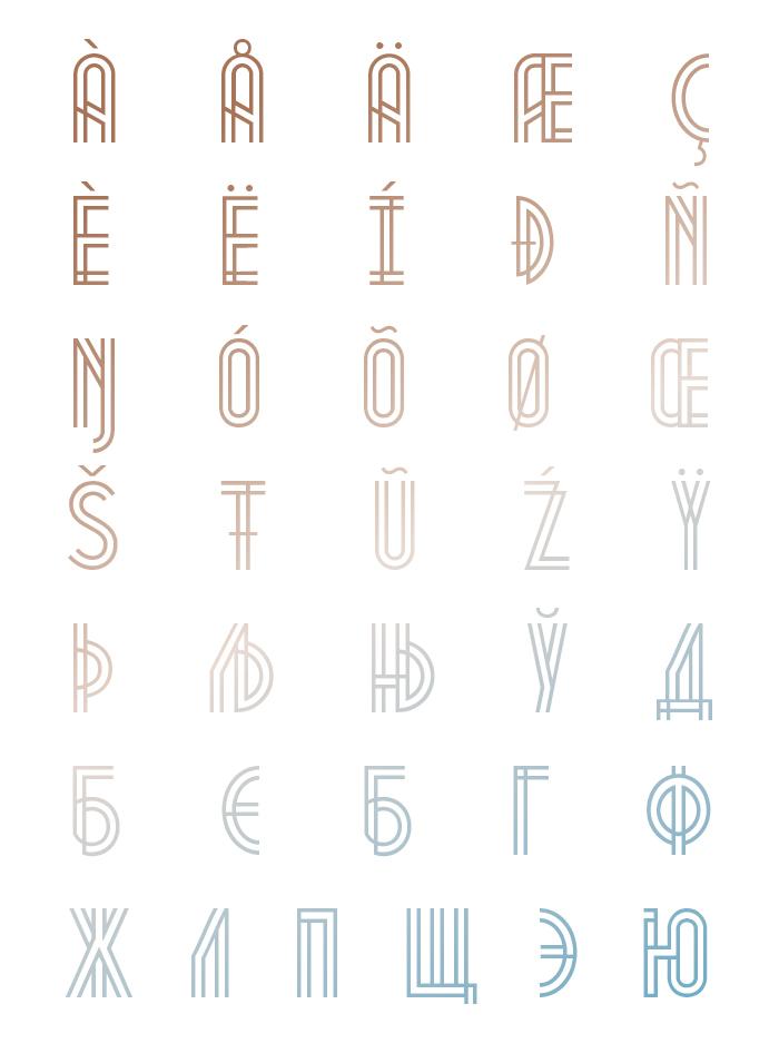 Metropolis - Fontfabric™