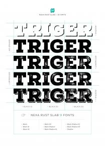 Nexa Rust - Fontfabric™