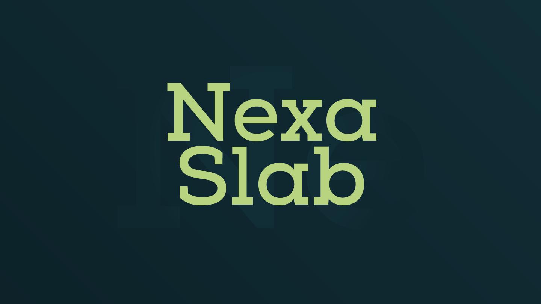 Nexa Slab - Fontfabric™