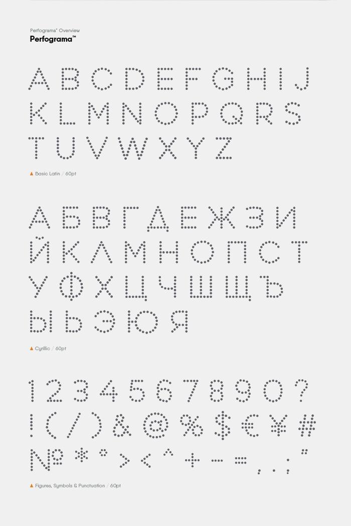 Perfograma - Fontfabric™