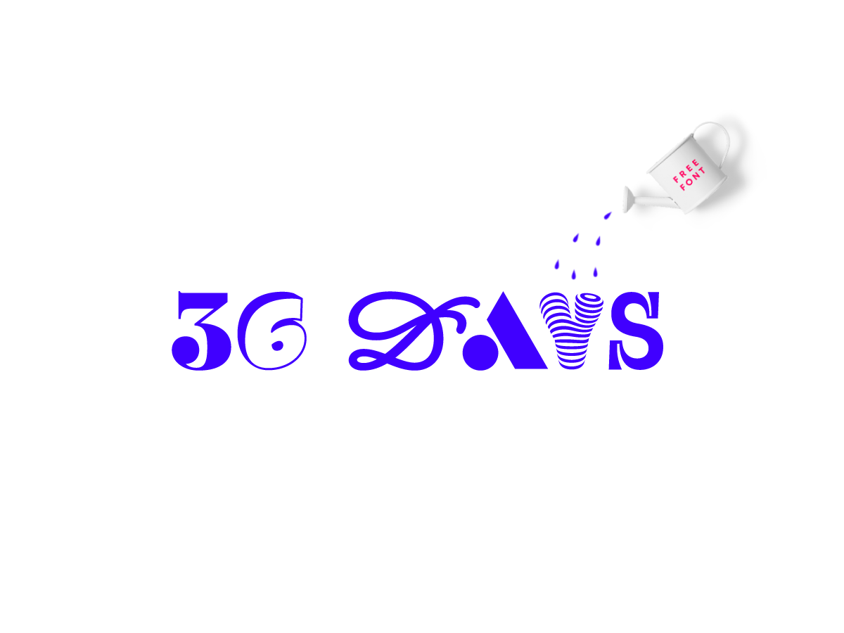 36 Days – The Typeface