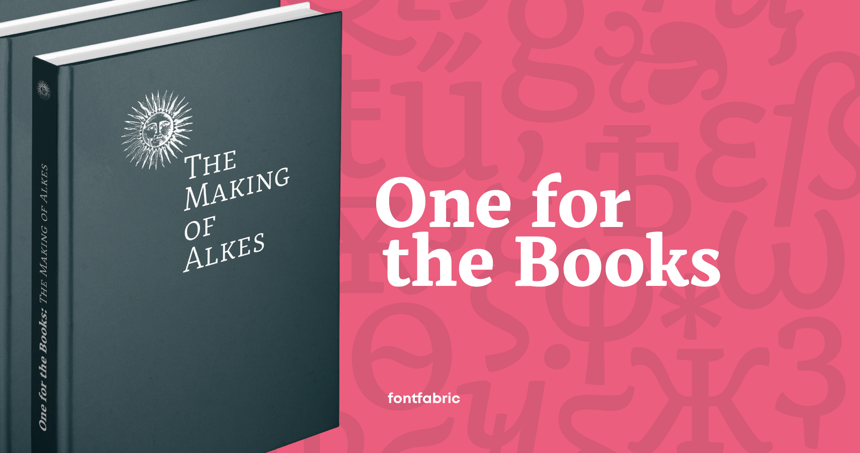 One For The Books: The Making of Alkes